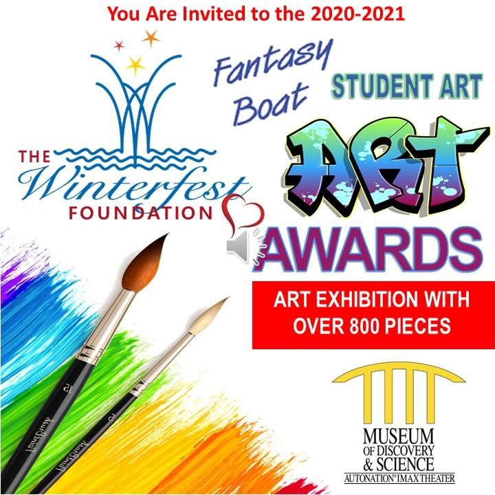 Winterfest Foundation Fantasy Boat Student Art Awards