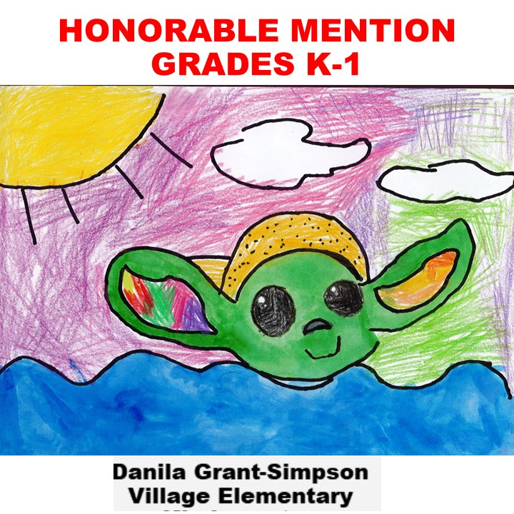 Danila Grant-Simpson, Honorable Mention Grades K-1