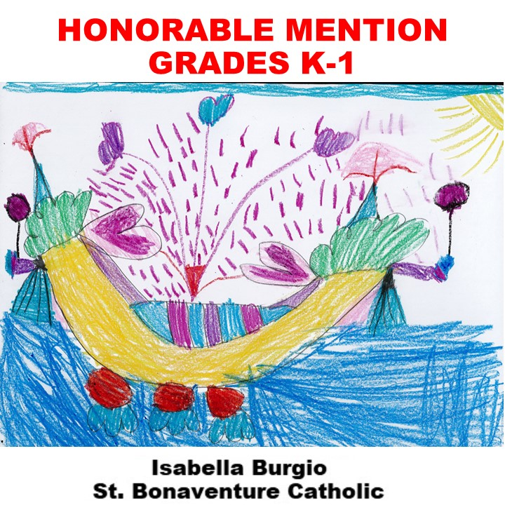 Isabella Burgio, Honorable Mention Grades K-1