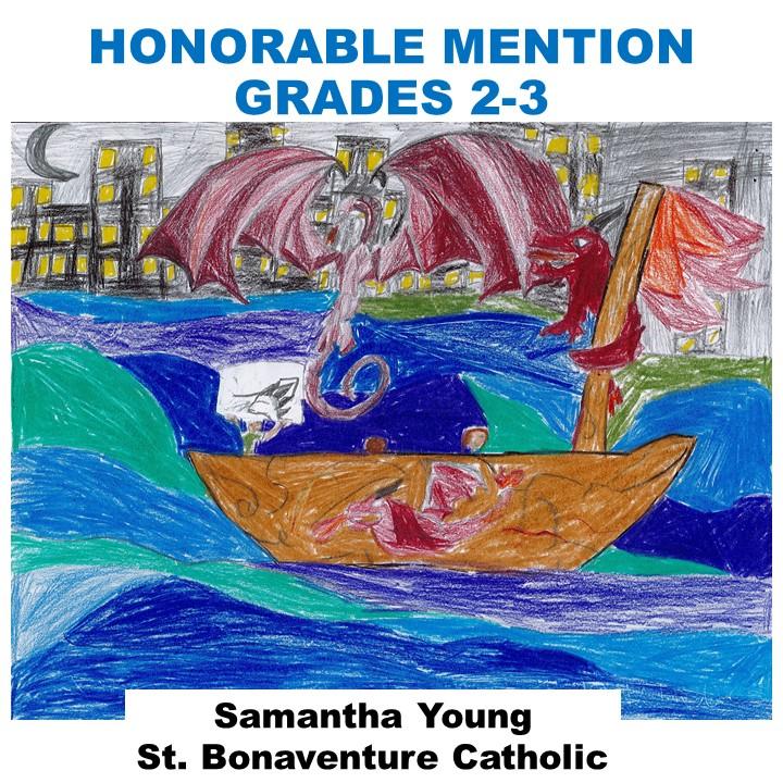 Samide Joseph, Honorable Mention Grades 2-3