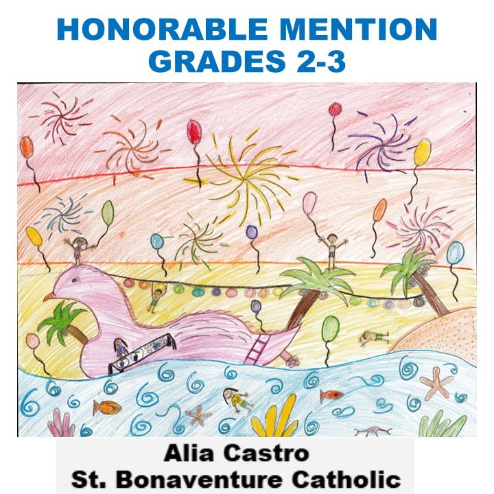 Alia Castro, Honorable Mention Grades 2-3