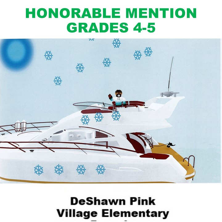 DeShawn Pink, Honorable Mention Grades 4-5