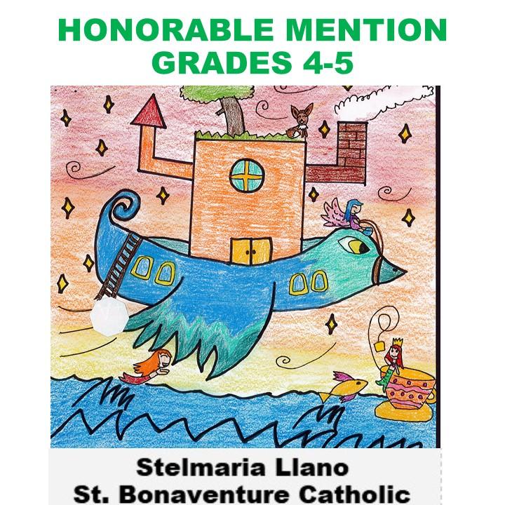 Stelmaria Llano, Honorable Mention Grades 4-5