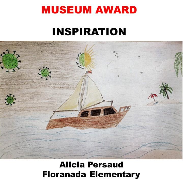 Alicia Persaud, Museum Award, Inspiration