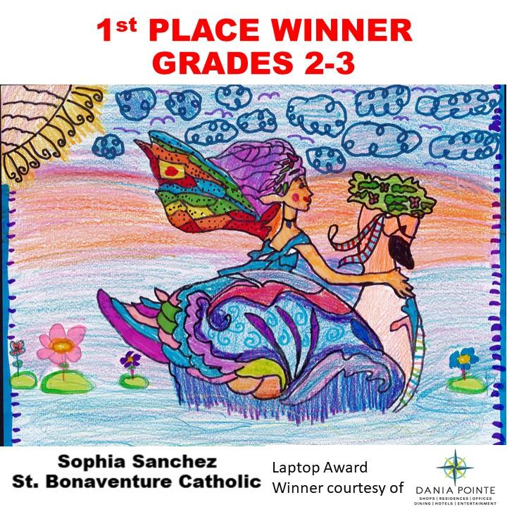Sophia Sanchez, 1st Place Winner Grades 2-3
