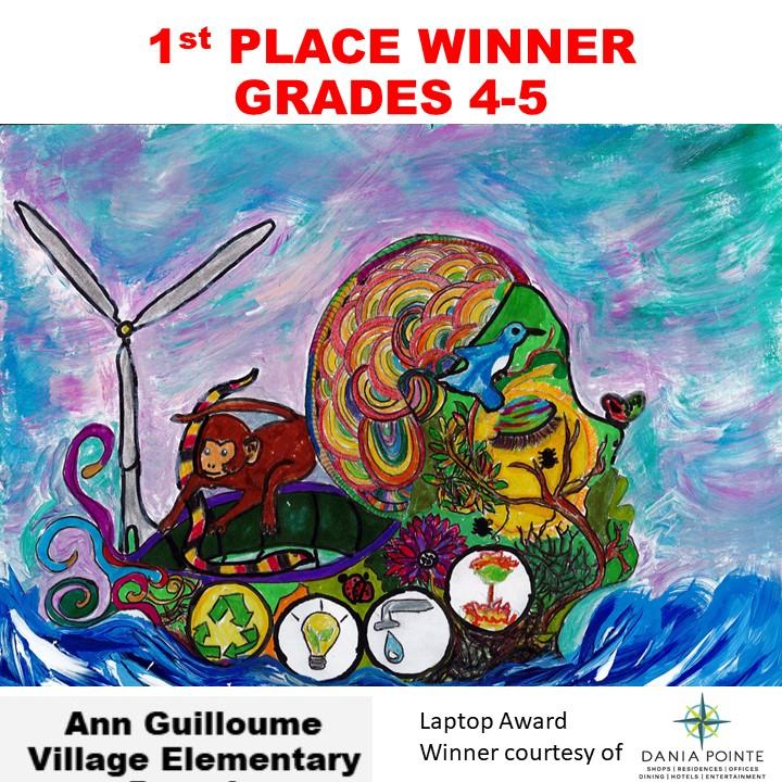 Ann Guilloume, 1st Place Winner Grades 4-5