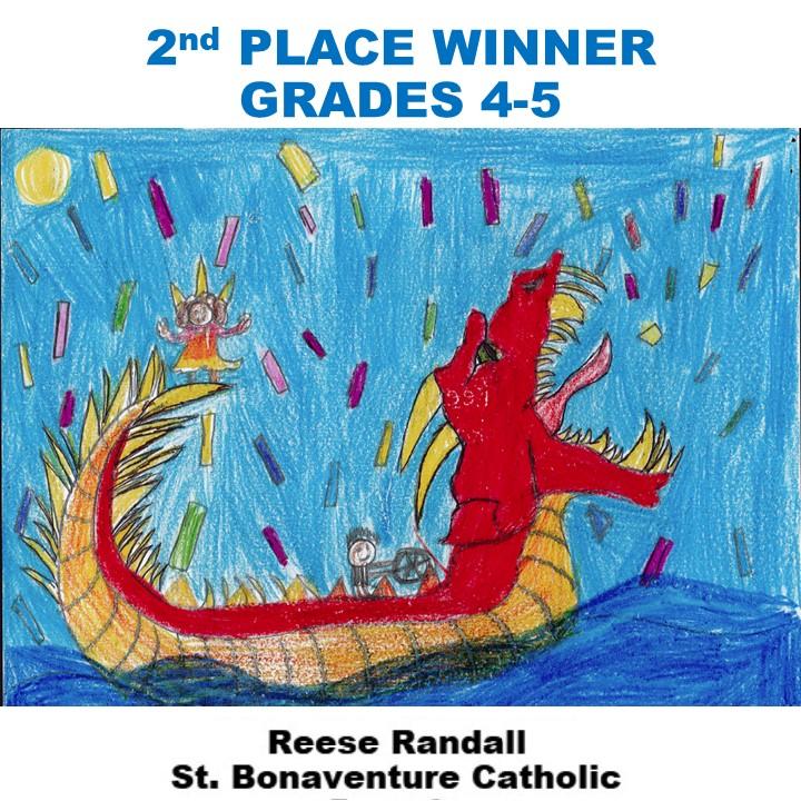 Reese Randall, 2nd Place Winner Grades 4-5