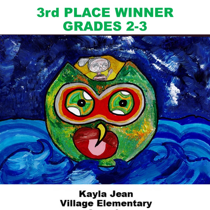 Kayla Jean, 3rd Place Winner Grades 2-3